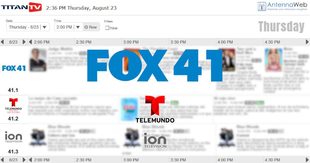 Kcyu Fox 41 Tv Guide Fox 11 Tri Cities Fox 41 Yakima