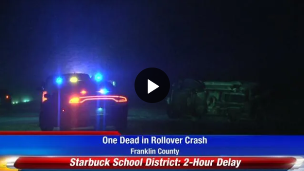 WATCH: 1 dead in rollover accident on 395 | Fox 11 Tri Cities Fox 41