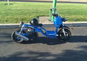 Scooter stolen at a Hanford complex in north Richland