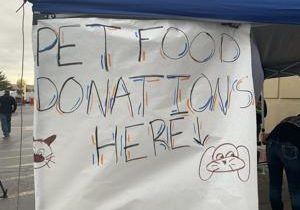 Local high school FFA chapter hosts pet food drive for Tri-Cities shelters